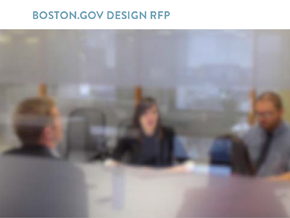 boston.gov Design RFPのサムネイル